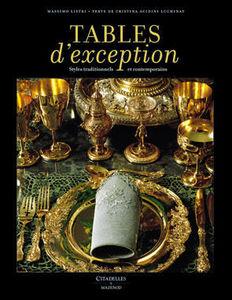 Editions Citadelles Et Mazenod - tables d'exception - Livre De D�coration