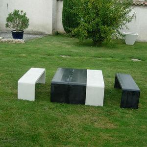 Beton Concept -  - Salon De Jardin