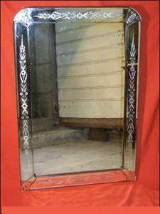 L'Atelier de la dorure - napoleon iii - Miroir Venitien