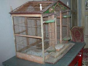 ANTIQUITES ARBORE -  - Cage À Oiseaux