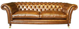 British Deco - 1090 - Canapé Chesterfield