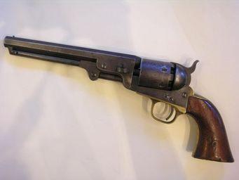 Aux Armes d'Antan - revolver colt 1851 navy - Pistolet Et Révolver