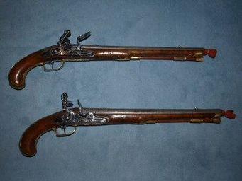 Patrice Reboul - pistolet � silex - Pistolet Et R�volver