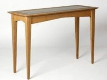 Gerard Lewis Designs - console table in oak - Table Console