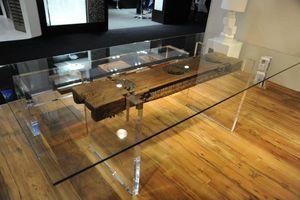 IDEEL - kerthy - Table De Repas Rectangulaire
