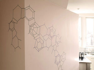 Walldesign - couture de mur - Sticker