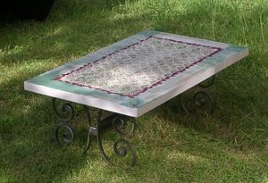 Atelier Christine -  - Table De Jardin