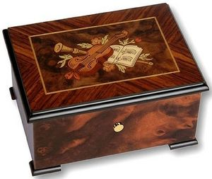Ayousbox - boîte à musique tatiana - sans compartiment de ran - Boite À Musique