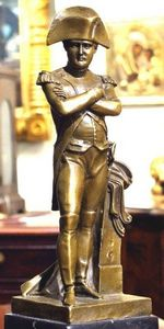 ERNEST JOHNSON ANTIQUES - statuette de napoléon - Statuette