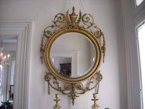 FAITH GRANT THE CONNOIssEUR'S SHOP - adams mirror - Miroir