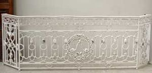GALERIE MARC MAISON - antique 18th century louis xvi balcony - Balcon