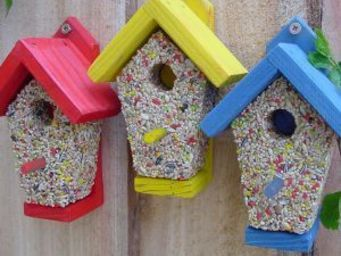 Wildlife world - birdie bistro - Maison D'oiseau