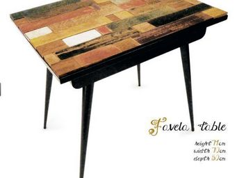 GEZO MARQUES - favela table - Table Bureau