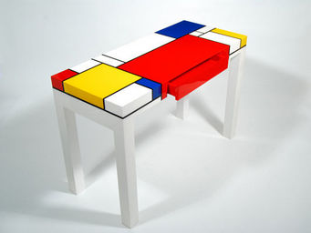 Pacific Connections - mondrian© - Console À Tiroir