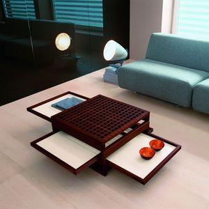 Sculptures-Jeux - tetra - Table Basse Forme Originale