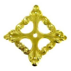 FERRURES ET PATINES - rosace de meuble en bronze style louis xiv pour co - Rosace De Porte
