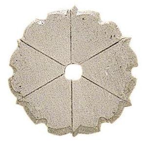 FERRURES ET PATINES - rosace de meuble en fer style louis xiv pour commo - Rosace De Porte