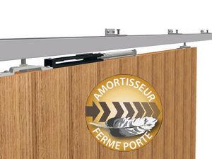 Wimove - amortisseur ferme porte pour porte jusqu a 40kg po - Motorisation Pour Porte D'intérieur