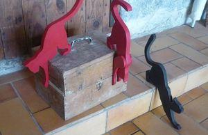 SYLVIE DELORME -  - Sculpture Animalière