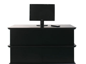 Miliboo - u2ydd meuble tv 4 tiroirs - Meuble Tv Hi Fi