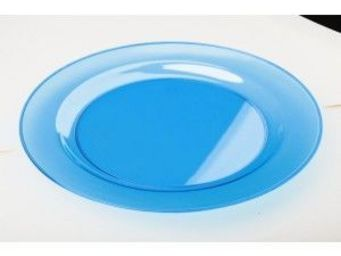 Adiserve - sous-assiette turquoise 30 cm - Assiette Jetable