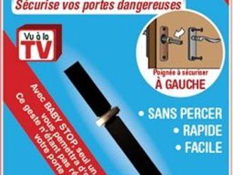 BABYSTOP - baby stop poign�e gauche - Poign�e De Porte (ensemble)