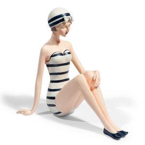 Maisons du monde - statuette nageuse marinella - Statuette