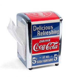 MAISONS DU MONDE - distributeur de serviettes coke - Distributeur De Serviettes En Papier