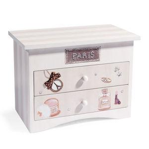 Maisons du monde - boite à bijoux miss paris - Coffret À Bijoux
