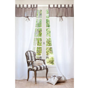 Maisons du monde - rideau noeud - Rideaux À Passants