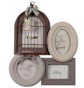 Maisons du monde - cage brun - Cadre Photo