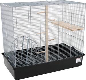 ZOLUX - cage ecureuil argent 70x40x65cm - Cage � Oiseaux