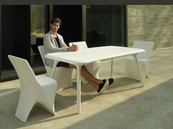 VONDOM - sloo - Table De Jardin