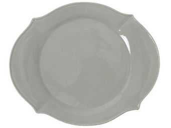 Athezza Home - ass. plate olivia taupe 36,5cm - Assiette Plate