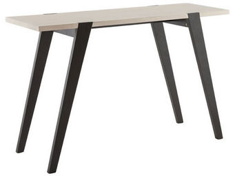 Alterego-Design - table console 'rino' design en bois ch�ne - Console