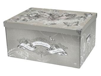 Mathilde M - boîte rectangulaire (gm) le ballet des papillons - Boite De Rangement