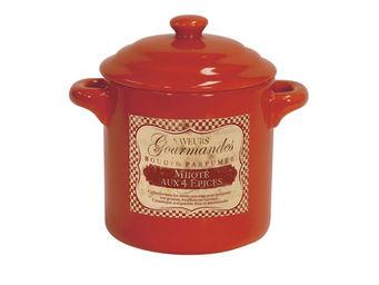 Orval Creations - bougie cocotte parfum�e mijot� aux 4 �pices - Bougie Parfum�e