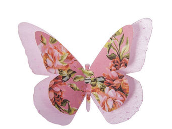 Orval Creations - papillon double � pince p�ch� mignon - D�coration De Table