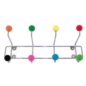 Present Time - porte manteau à fixer boules colorées - Portemanteau