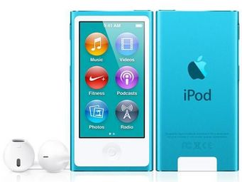 APPLE - ipod nano 16 go bleu (7me gnration) - new - Mp3