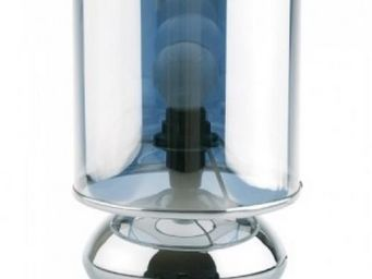 Up Trade - lampe lentille chrome - Lampe De Chevet