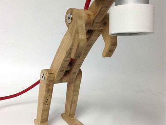 JEAN-MICHEL LOLIA - kangoo caramel fw - Lampe De Chevet