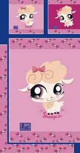 Up Trade - housse de couette littlest pet shop cuddliest + 1 - Housse De Couette Enfant