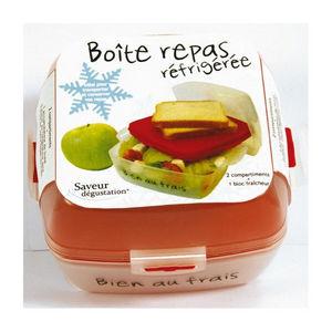 WHITE LABEL - boite repas fraicheur avec accumulateur de froid - Boite De Conservation