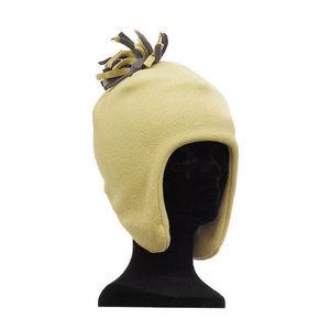 WHITE LABEL - bonnet péruvien polaire chaude avec pompon pour en - Bonnet