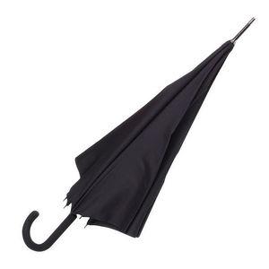 WHITE LABEL - parapluie droit homme manche canne en caoutchouc u - Parapluie