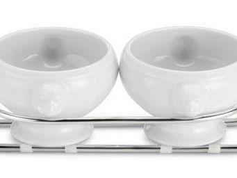Greggio - 2-bowl sauce dish art 19850222 - Sauci�re