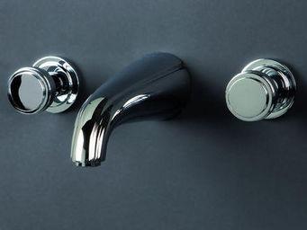 Cristal Et Bronze - elegance median - Mélangeur Lavabo 3 Trous