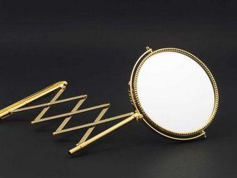 Cristal Et Bronze -  - Miroir De Salle De Bains