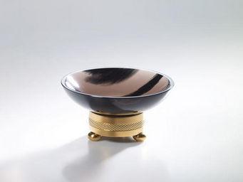 Cristal Et Bronze - obsidienne - Porte Savon � Poser